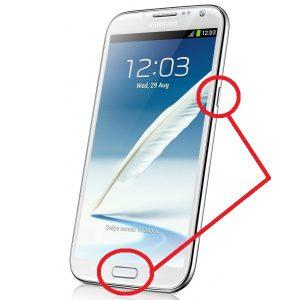 Samsung скриншот