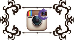 Как повернуть фото в Инстаграме