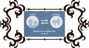 Отличия группы от публичной страницы (паблика) Вконтакте
