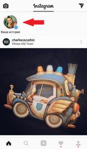 Моя история в Instagram