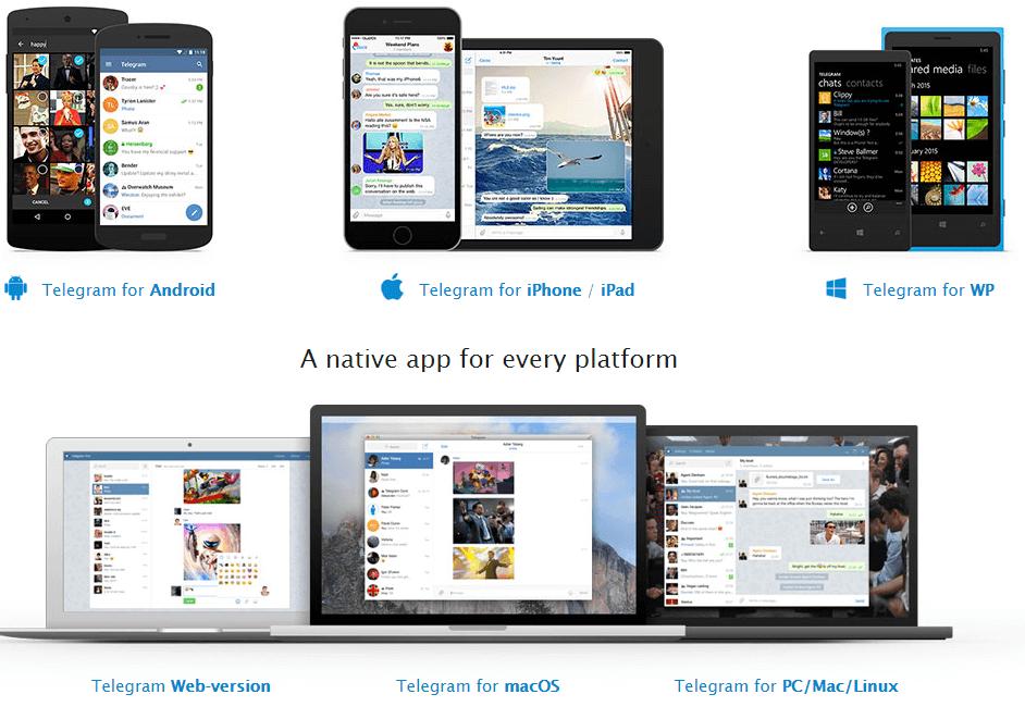 Приложения для Telegram