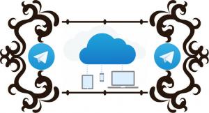 Облачное хранилище чат с самим собой в Телеграмм